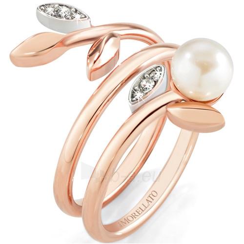 Morellato nerūdijančio plieno žiedas su perlu Gioia SAER15 (Dydis: 52 mm) Paveikslėlis 1 iš 1 310820023220