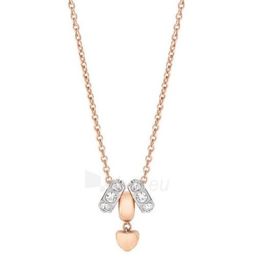 Morellato plieninis vėrinys Drops Rose Gold Heart SCZ374 Paveikslėlis 1 iš 1 310820017584