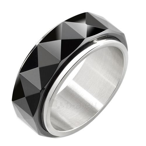 Morellato vyriškas plieninis žiedas Ceramic SAEV10 (Dydis: 63 mm) Paveikslėlis 1 iš 1 310820023355