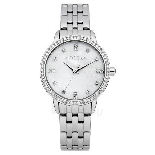 MORGAN moteriškas pulkstenis M1222SM Paveikslėlis 1 iš 1 310820036088