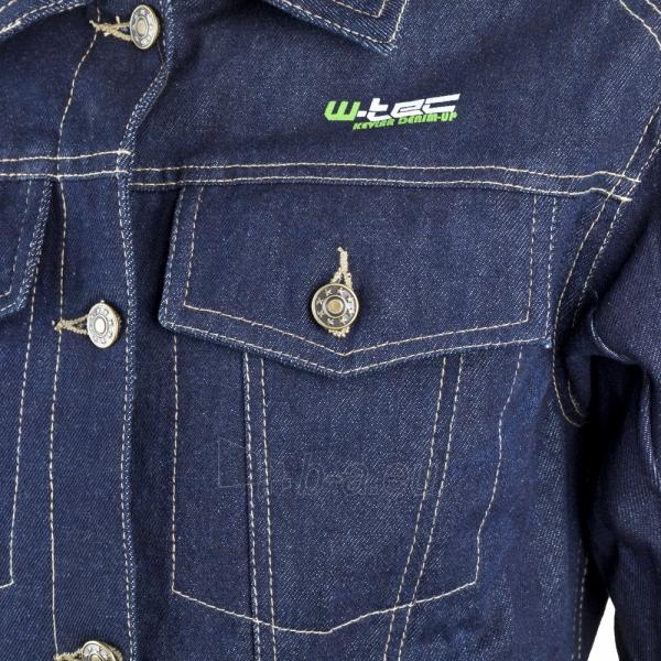 Moteriška džinsinė motociklininko striukė W-TEC NF-2980 Paveikslėlis 8 iš 11 310820083842