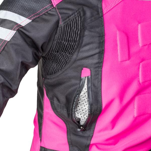 Moteriška moto striukė su apsaugomis W-Tec Alenalla Nf-2410 Paveikslėlis 4 iš 9 310820218040