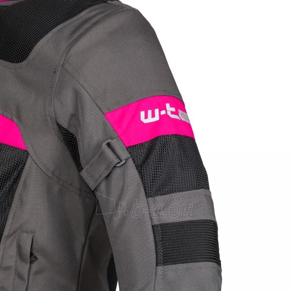 Moteriška moto striukė su apsaugomis W-TEC Monaca Paveikslėlis 9 iš 14 310820218038