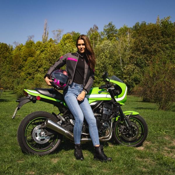 Moteriška moto striukė su apsaugomis W-TEC Monaca Paveikslėlis 3 iš 14 310820218038