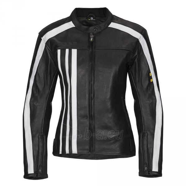 Moteriška odinė motociklininko striukė W-TEC NF-1173 Paveikslėlis 1 iš 8 310820083828
