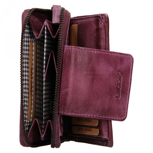 Moteriška piniginė Lagen 931/D Plum Paveikslėlis 3 iš 7 310820225353