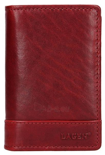Moteriška piniginė Lagen V-60/T-red Paveikslėlis 1 iš 4 310820217726