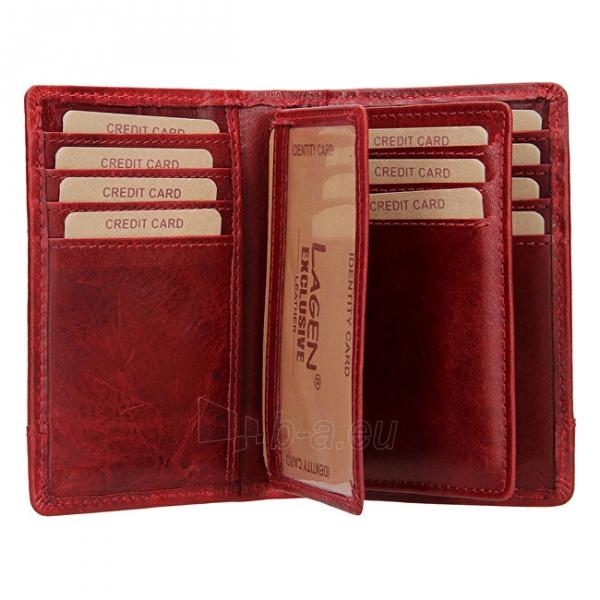 Moteriška piniginė Lagen V-60/T-red Paveikslėlis 2 iš 4 310820217726
