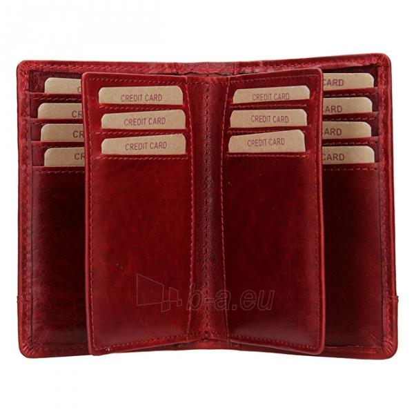 Moteriška piniginė Lagen V-60/T-red Paveikslėlis 3 iš 4 310820217726