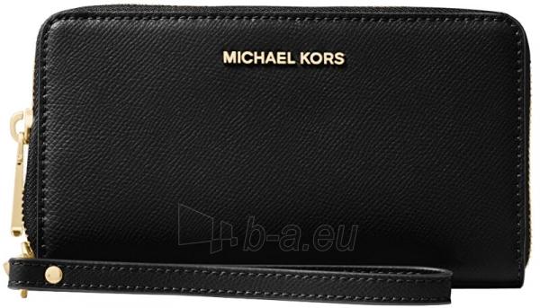 Moteriška piniginė Michael Kors Jet Set 32H4GTVE9L1 Black Paveikslėlis 1 iš 3 310820225385