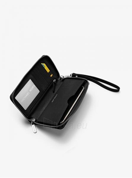 Moteriška piniginė Michael Kors Jet Set 32H4GTVE9L1 Black Paveikslėlis 3 iš 3 310820225385
