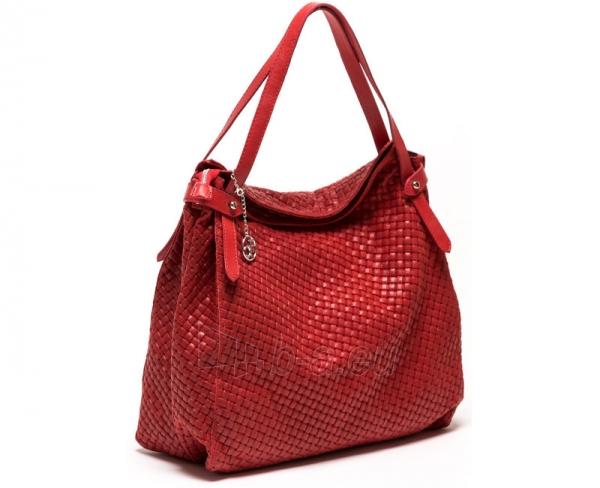 Moteriška rankinė Carla Ferreri  861 Rosso Paveikslėlis 1 iš 4 30063202435