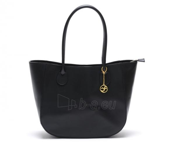 Moteriška bag Carla Ferreri odinė 3000 Nero Paveikslėlis 1 iš 5 30063202404