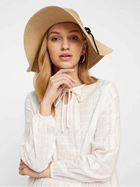 Moteriška skrybėlė VERO MODA VMVENES Oatmeal Paveikslėlis 3 iš 4 310820210519