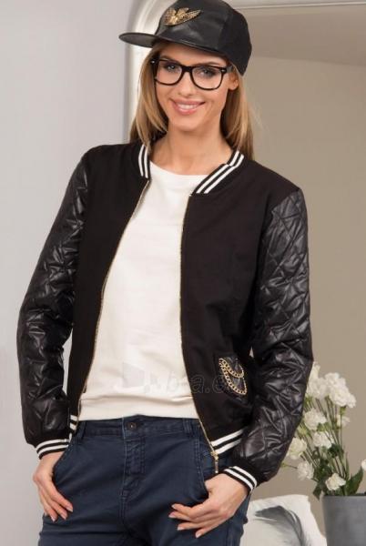 Moteriškas džemperis Yveso (juodos spalvos) Paveikslėlis 1 iš 4 310820033793