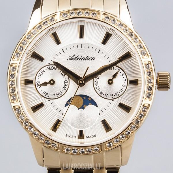 Moteriškas laikrodis Adriatica A3601.1113QFZ Paveikslėlis 5 iš 6 30069505640