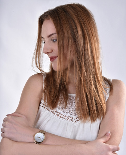 Sieviešu pulkstenis Bentime Dámské hodinky s diamantem 044-9MB-PT11894N Paveikslėlis 3 iš 4 310820159216