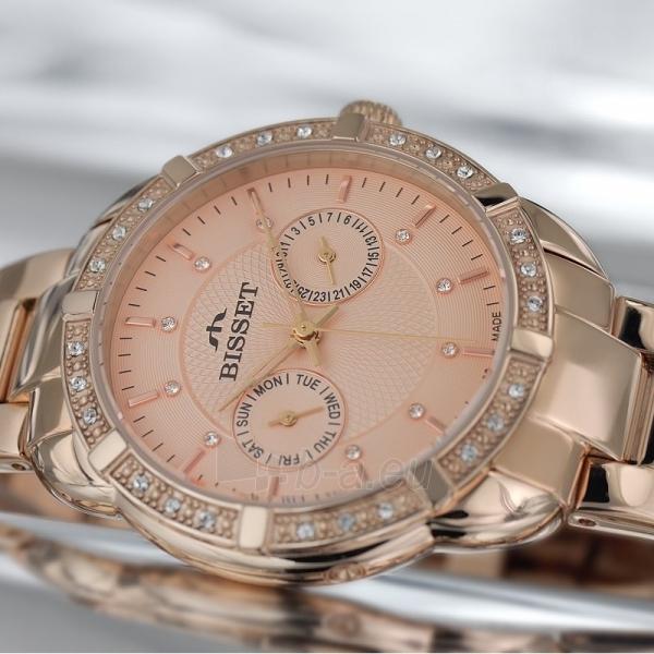 Moteriškas laikrodis BISSET Alfa BSBE13RIRX03BX Paveikslėlis 3 iš 3 30069509254