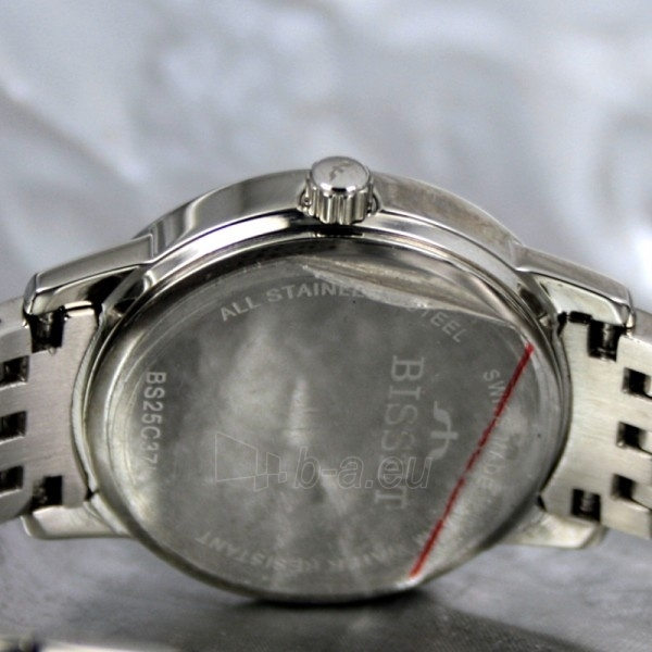 Moteriškas laikrodis BISSET Blanche Steel  BSBC37SWBX03BX Paveikslėlis 7 iš 7 30069505666