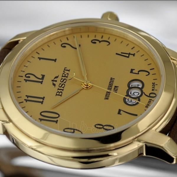 Moteriškas laikrodis BISSET BSCD59GAGX05BX Paveikslėlis 2 iš 9 30069505684