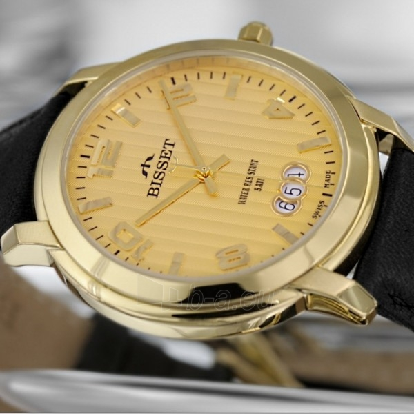 Moteriškas laikrodis BISSET BSCD59GMGX05BX Paveikslėlis 2 iš 2 30069505686