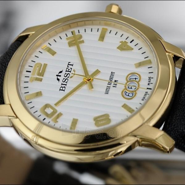 Moteriškas laikrodis BISSET BSCD59GMSX05BX Paveikslėlis 2 iš 2 30069505687