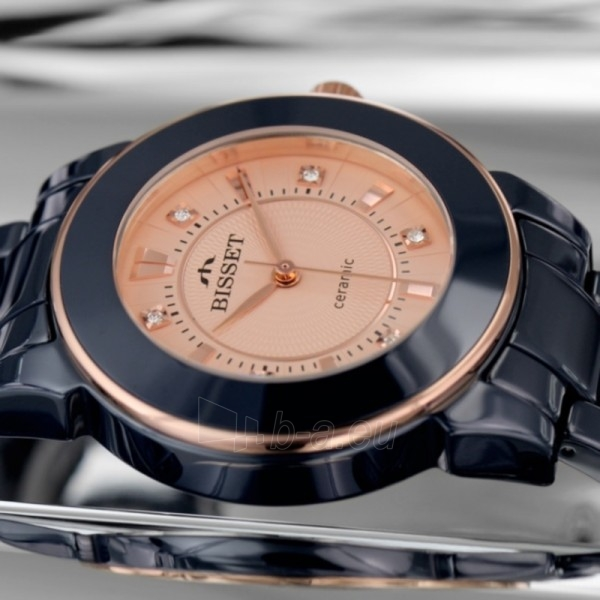 Moteriškas laikrodis BISSET Dark Side BSPD69RIRX03BX Paveikslėlis 2 iš 2 30069505752