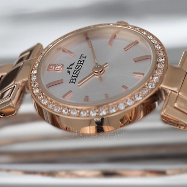 Moteriškas laikrodis BISSET Lalalush BSBE08RISX03BX Paveikslėlis 2 iš 2 30069505790