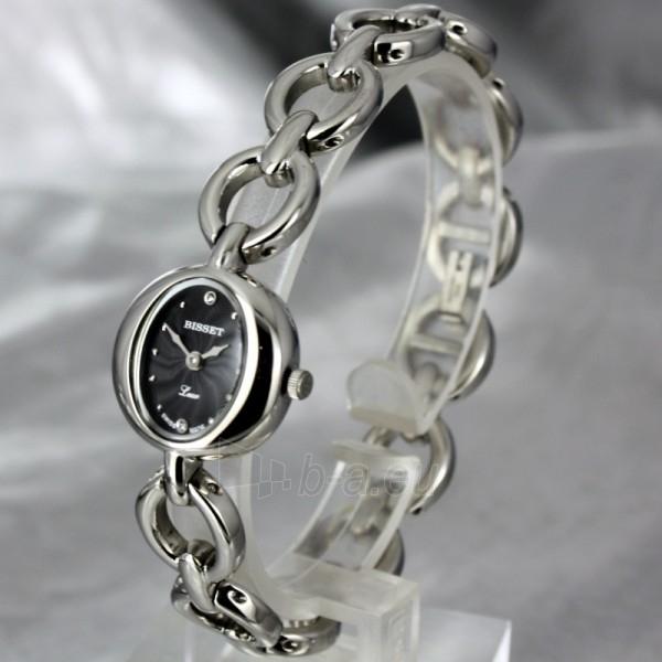 Moteriškas laikrodis BISSET Petit BSBD06 LS BK Paveikslėlis 1 iš 6 30069505716