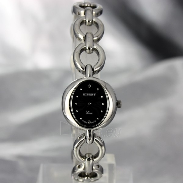 Moteriškas laikrodis BISSET Petit BSBD06 LS BK Paveikslėlis 2 iš 6 30069505716