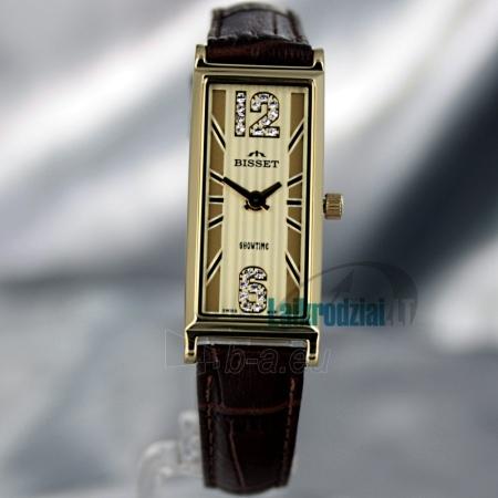 Moteriškas laikrodis BISSET Quaracit BS25B85 LG GD BR Paveikslėlis 2 iš 6 30069505719