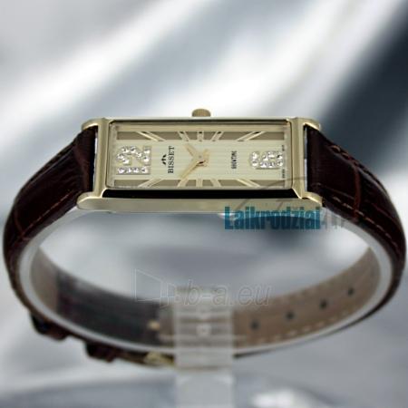 Moteriškas laikrodis BISSET Quaracit BS25B85 LG GD BR Paveikslėlis 3 iš 6 30069505719