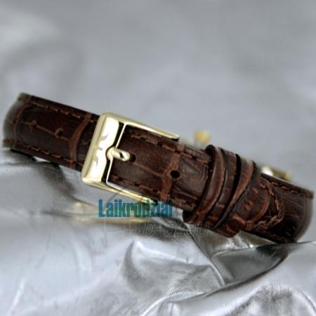Moteriškas laikrodis BISSET Quaracit BS25B85 LG GD BR Paveikslėlis 4 iš 6 30069505719
