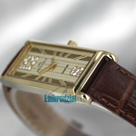 Moteriškas laikrodis BISSET Quaracit BS25B85 LG GD BR Paveikslėlis 5 iš 6 30069505719