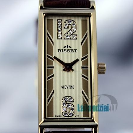 Moteriškas laikrodis BISSET Quaracit BS25B85 LG GD BR Paveikslėlis 6 iš 6 30069505719