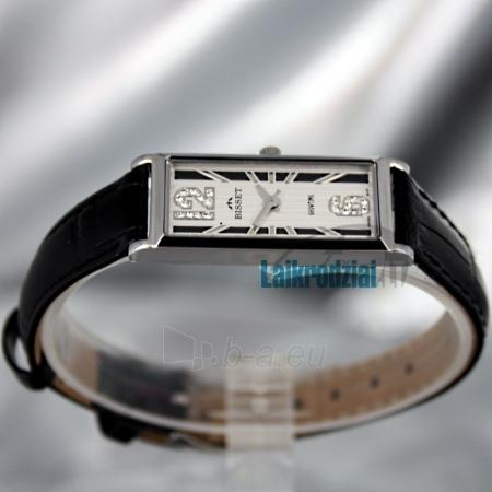 Moteriškas laikrodis BISSET Quaracyt BS25B85 LS WH BK Paveikslėlis 3 iš 6 30069505720