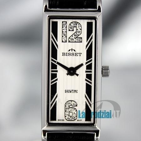 Moteriškas laikrodis BISSET Quaracyt BS25B85 LS WH BK Paveikslėlis 6 iš 6 30069505720