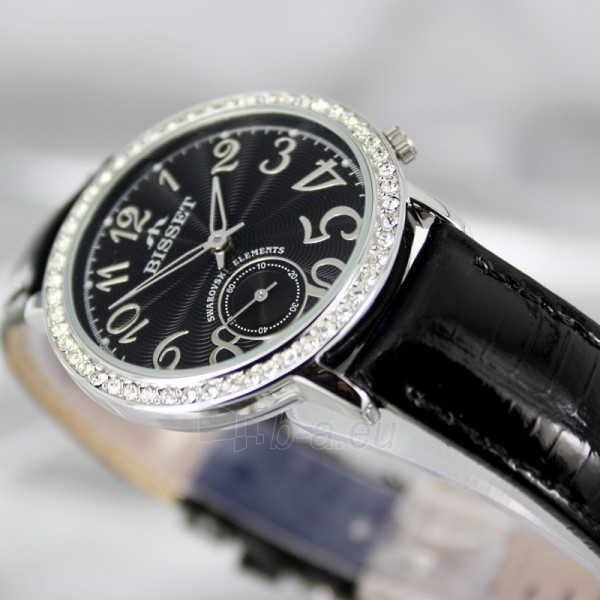 Moteriškas laikrodis BISSET Queen Ice BSAX01Q LS BK BK Paveikslėlis 4 iš 6 30069505721