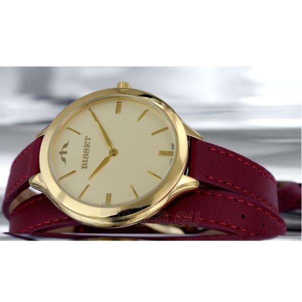 Moteriškas laikrodis BISSET Ribbon long BSAE20GIGX03B1 Paveikslėlis 2 iš 2 30069509263
