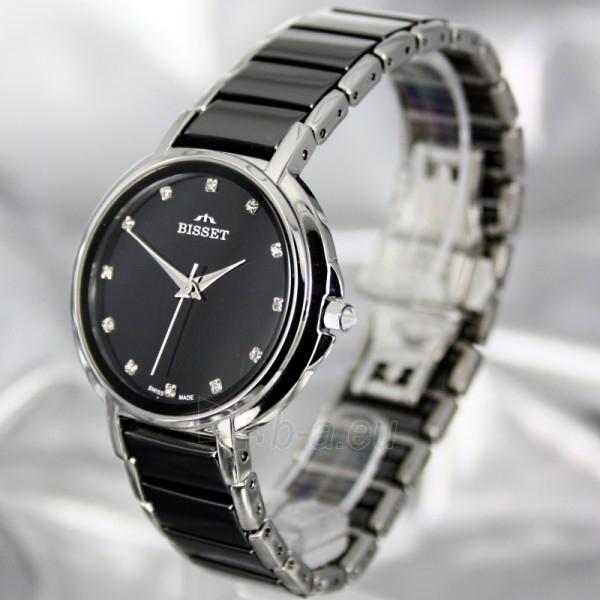 Moteriškas laikrodis BISSET Swan BSBD01 LS BK Paveikslėlis 1 iš 7 30069505742