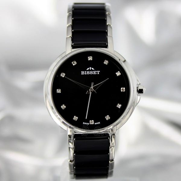 Moteriškas laikrodis BISSET Swan BSBD01 LS BK Paveikslėlis 2 iš 7 30069505742