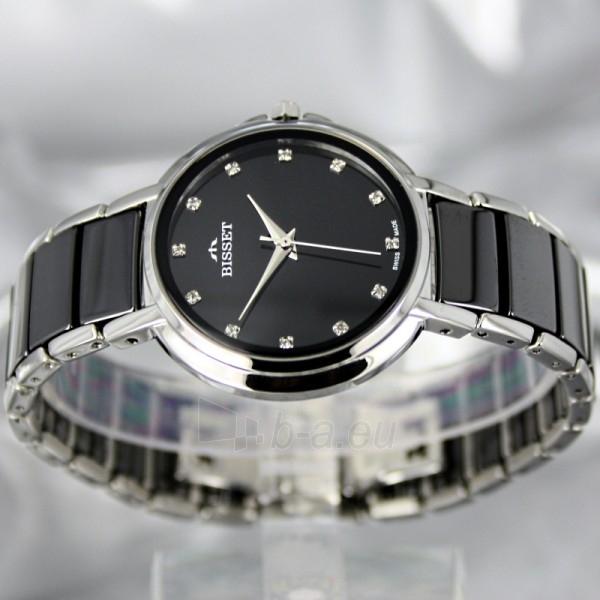 Moteriškas laikrodis BISSET Swan BSBD01 LS BK Paveikslėlis 3 iš 7 30069505742