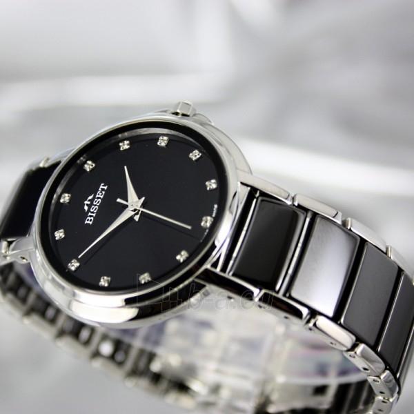 Moteriškas laikrodis BISSET Swan BSBD01 LS BK Paveikslėlis 4 iš 7 30069505742
