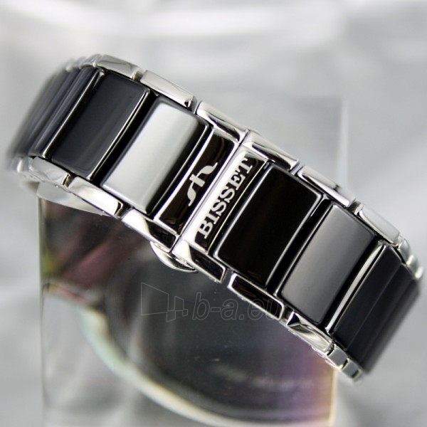 Moteriškas laikrodis BISSET Swan BSBD01 LS BK Paveikslėlis 6 iš 7 30069505742