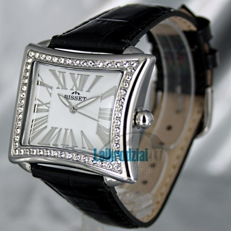Women's watch BISSET Tosca BS25C09Q LS WH BK Paveikslėlis 1 iš 6 30069505804