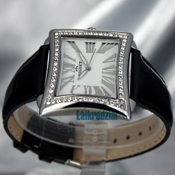 Women's watch BISSET Tosca BS25C09Q LS WH BK Paveikslėlis 2 iš 6 30069505804