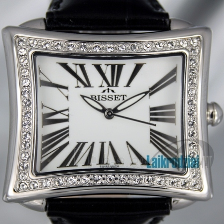 Women's watch BISSET Tosca BS25C09Q LS WH BK Paveikslėlis 6 iš 6 30069505804