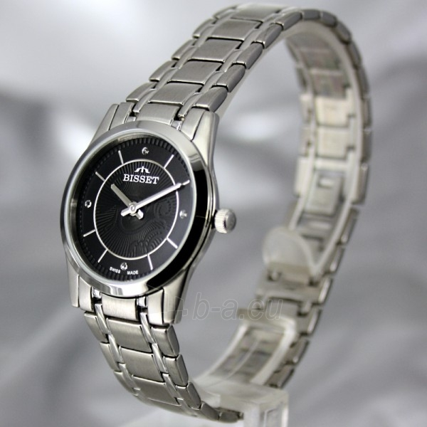 Moteriškas laikrodis BISSET Zefora BSBC92 LS BK Paveikslėlis 1 iš 7 30069505821