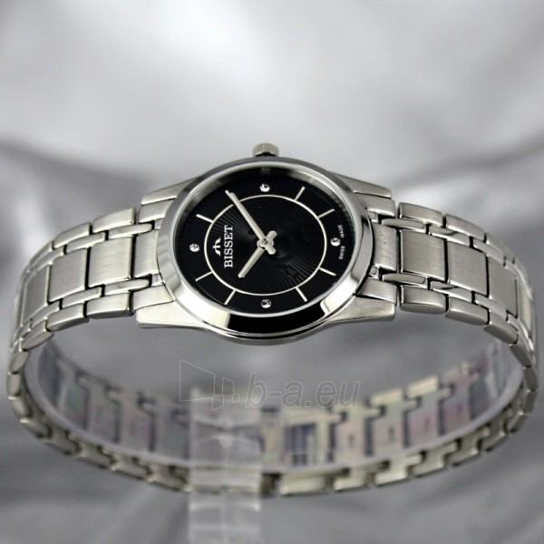 Moteriškas laikrodis BISSET Zefora BSBC92 LS BK Paveikslėlis 3 iš 7 30069505821
