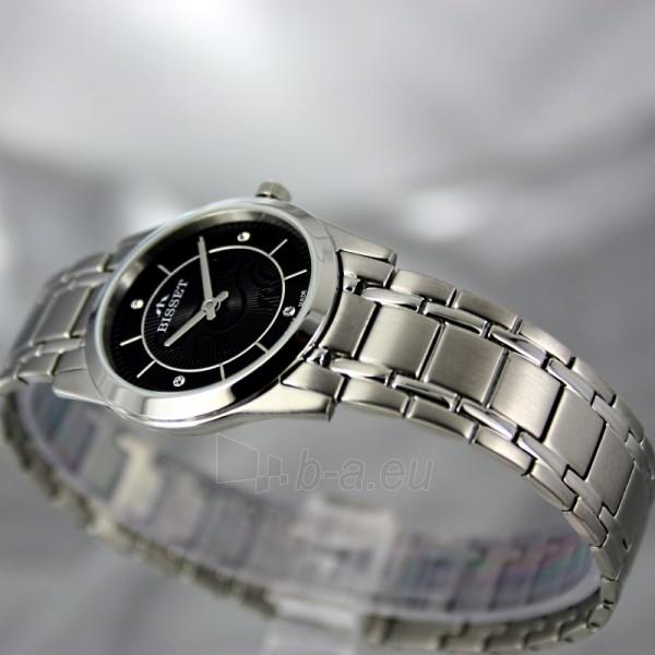 Moteriškas laikrodis BISSET Zefora BSBC92 LS BK Paveikslėlis 4 iš 7 30069505821